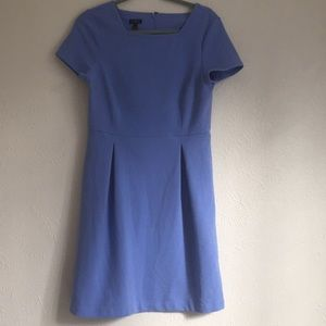 Talbots french style cute blue stretchy dress